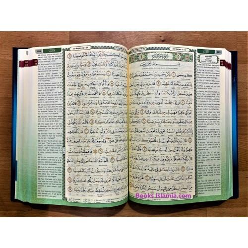 Al-Quran Al-Kareem Word-By-Word Translation & Color Coded Tajweed
